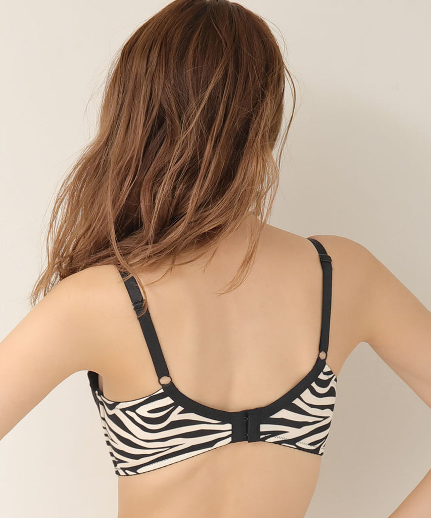 Maximum Boost Bra CHOMORI BRA(R) in Animal Print