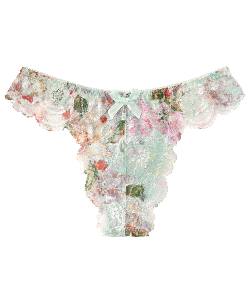 Jolie Flower Lace Thong Panty