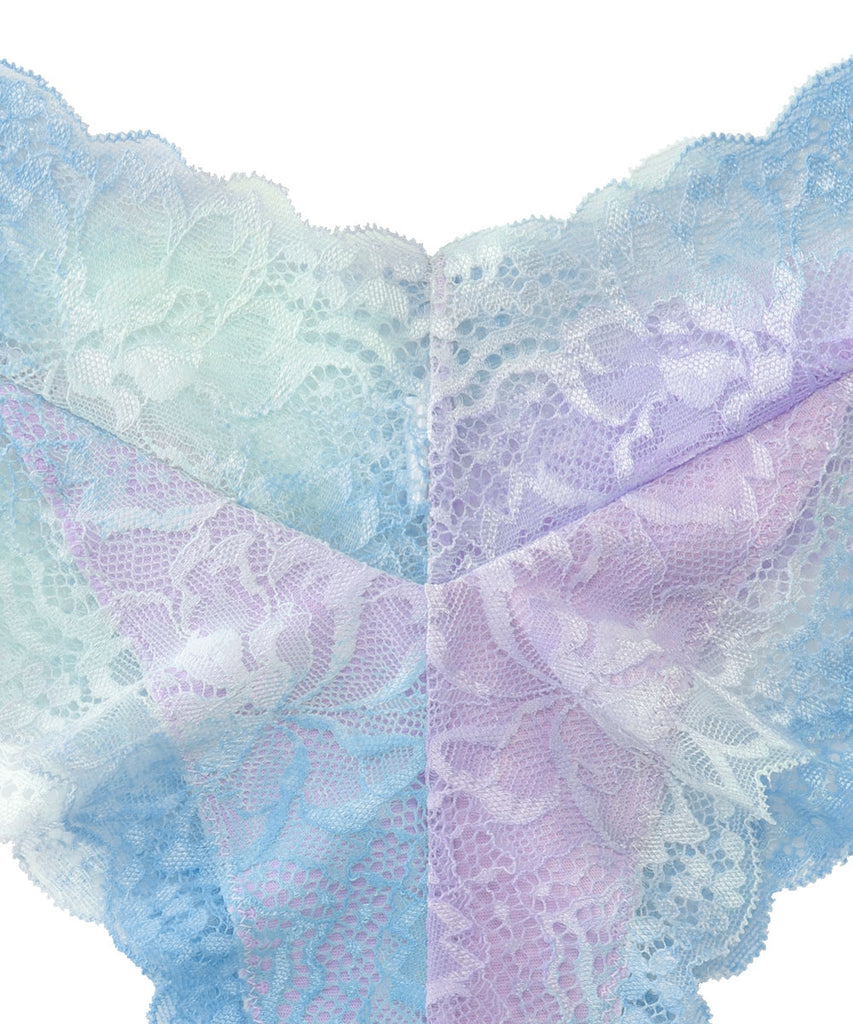 Gradient Color Lace Cheeky Panty