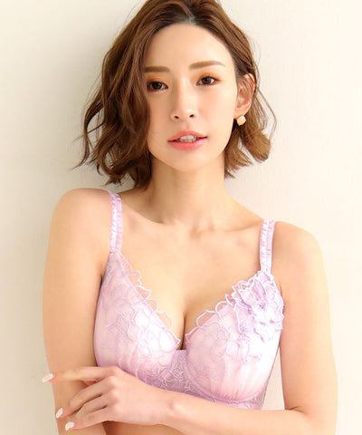 Floral Motif Bra with Side Support (FGH CUP)