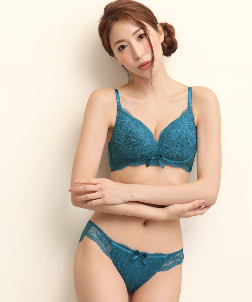 """Sunny Flower"" Dreamy Wireless Bra & Panty"