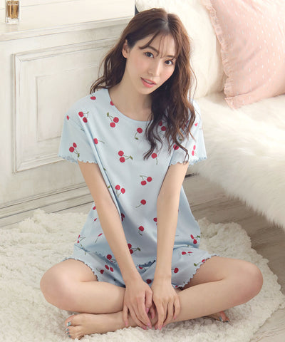 Mellow Short Sleeve Short Pants Set