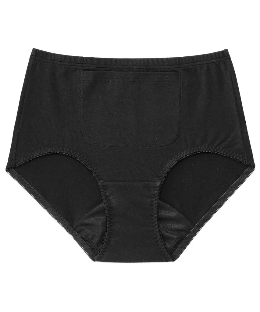 High-waist Period Panty With Pocket