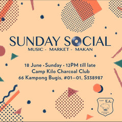 May & Bahru at Sunday Social - Kamp Kilo