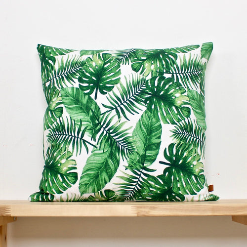 Cushion Green palms