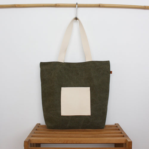 Tote bag - Army / Elephant parade