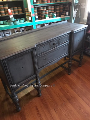 How To Paint A Buffet With Junk Monkey Paint