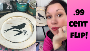 Video: How To Make Cute Decor With Thrift Store Plates