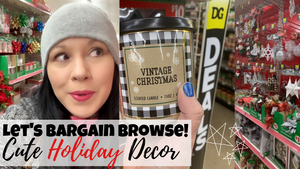 Picking Up Christmas Stuff | Dollar General Haul
