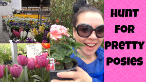 PA Roadside Farm Stand Visit | Looking For Posies For My Repurposed Buffet Flower Planter