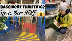 Thrifting DOWN In The Basement | Junk With Me