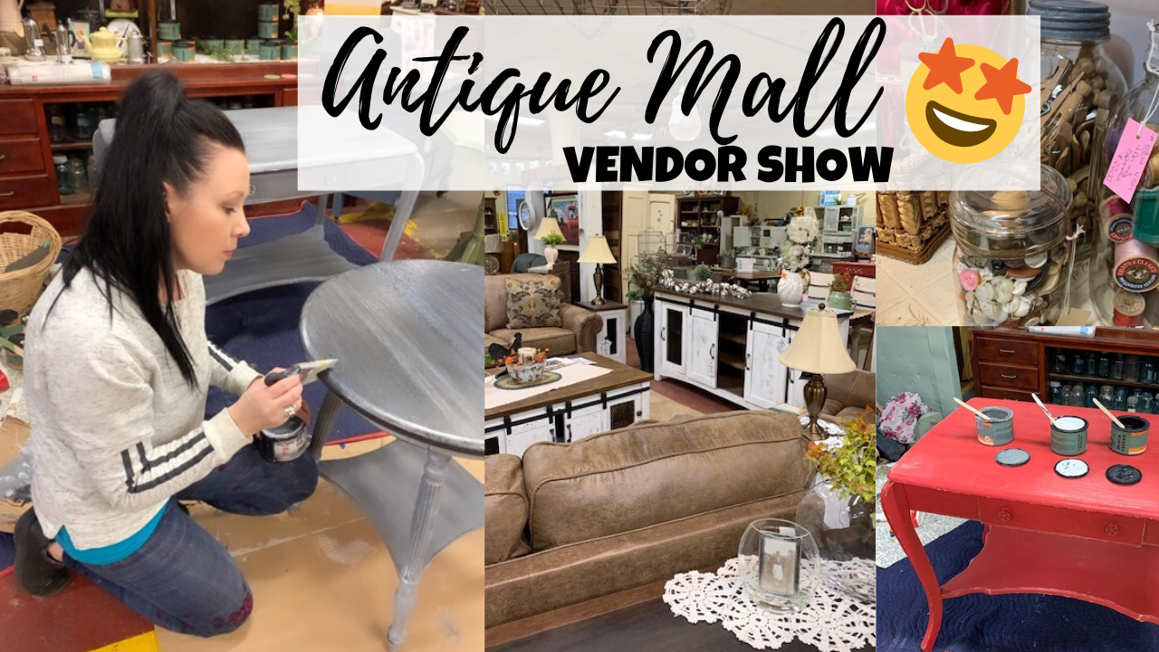 Used Furniture Flipping For Profit Working A Vendor Show Junk Monkey Paint Company