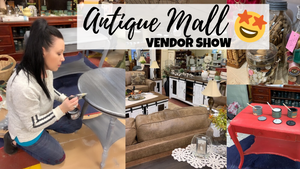 Used Furniture Flipping For Profit | Working A Vendor Show