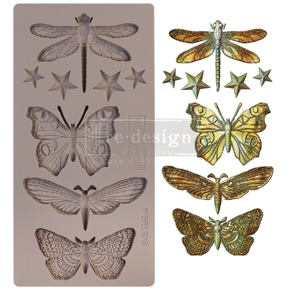 CECE Insecta and Stars mould by Redesign with Prima! ReDesign with Prima Moulds