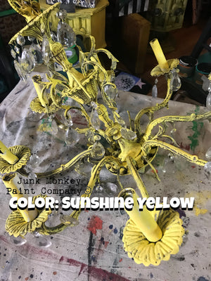 Junk Monkey Paint - Sunshine Yellow