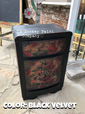 Junk Monkey Paint - Black Velvet