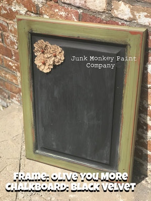 Junk Monkey Paint - Olive You More