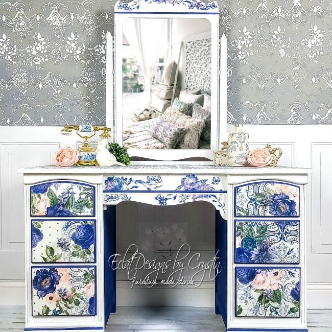 Fancy Essence Decoupage Paper by redesign with Prima