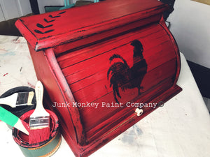 Junk Monkey Paint - Red Apple