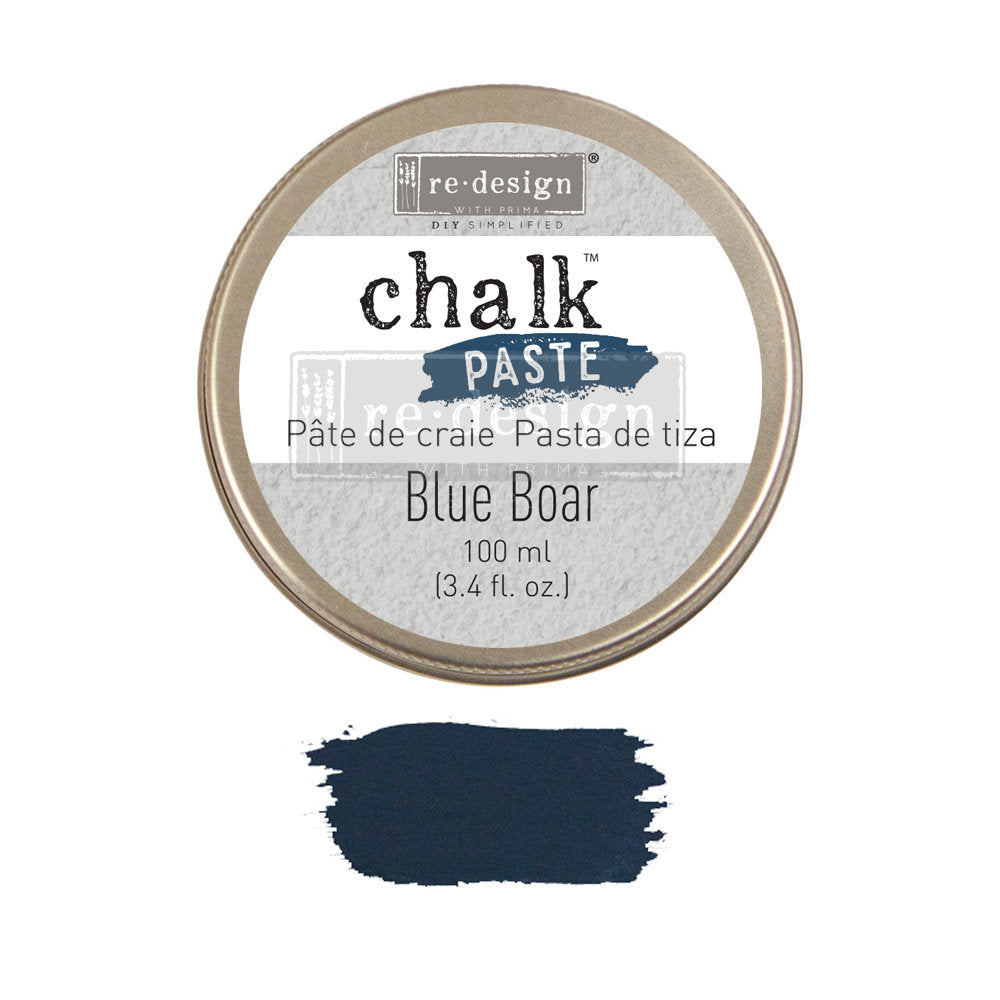 BLUE BOAR Chalk Paste by Redesign with Prima
