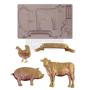 Farm Animals mould by Redesign with Prima