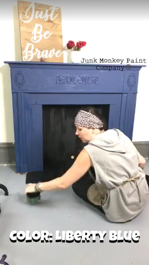 Junk Monkey Paint-Liberty Blue