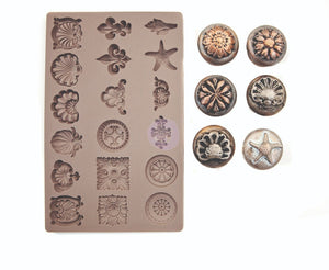 Seashore Treasures mould by Redesign with Prima
