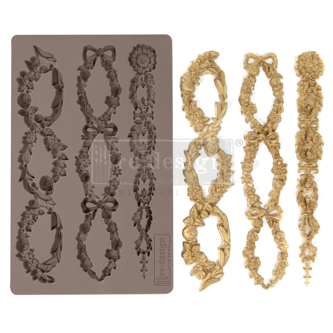 Floral Chain mould by Redesign with Prima