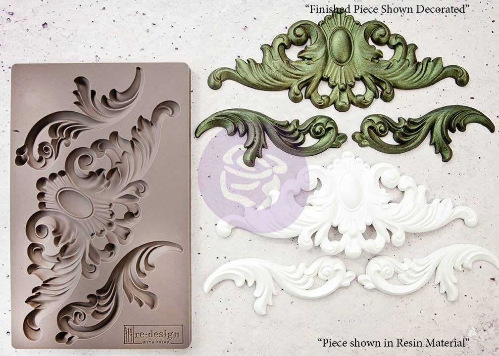 Thorton Medallion mould by re design with Prima