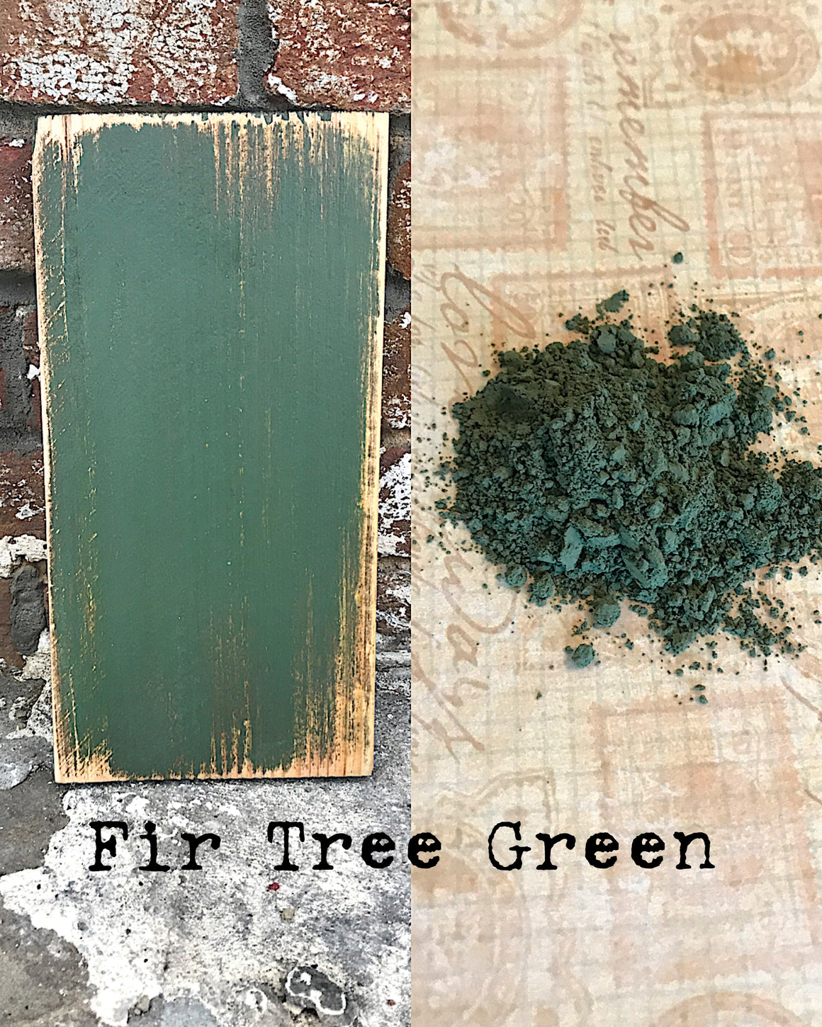 Milk Paint - Fir Tree Green