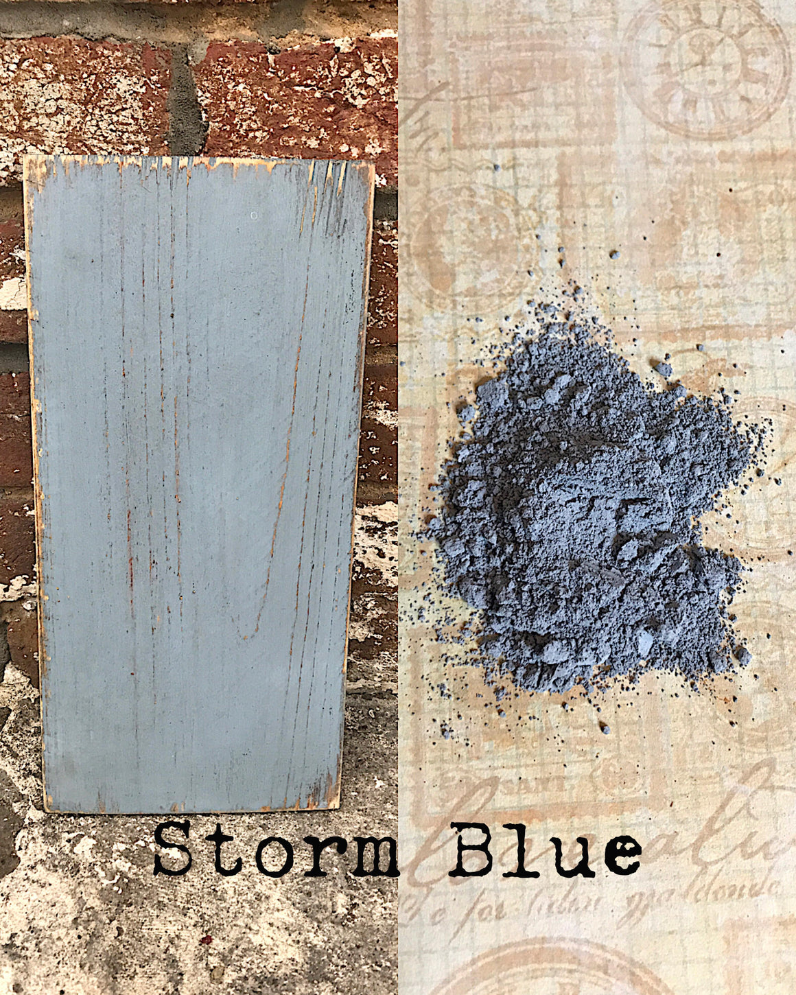 Milk Paint - Storm Blue
