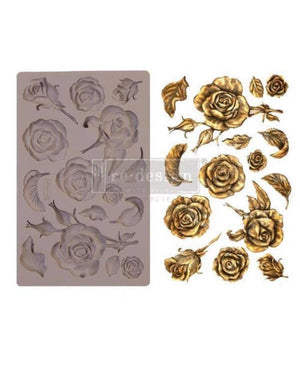 Fragrant Roses Mould by ReDesign With Prima Decor Mould