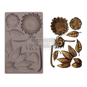 Forest Treasures Mould -Redesign with Prima