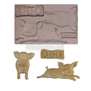 Farm Friends mould by Redesign with Prima! ReDesign with Prima Moulds, Silicone Moulds, Silicone Mold