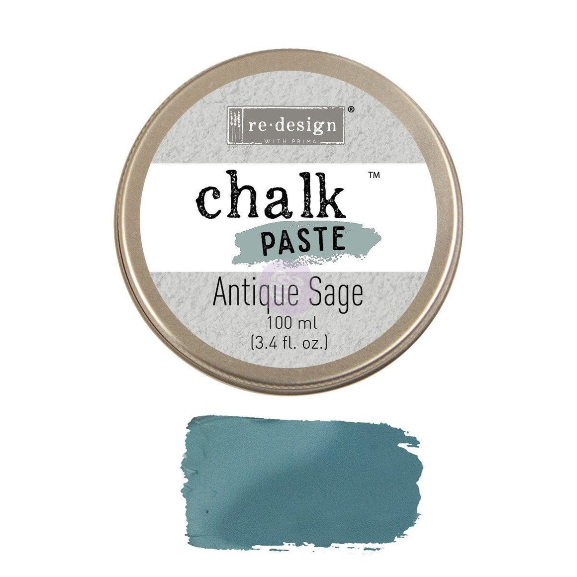 Antique Sage Chalk Paste by Redesign with Prima