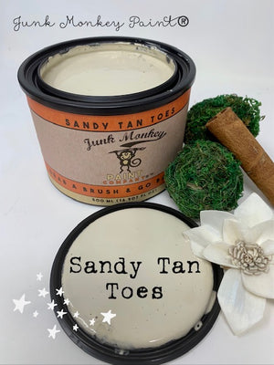 Junk Monkey Paint - Sandy Tan Toes