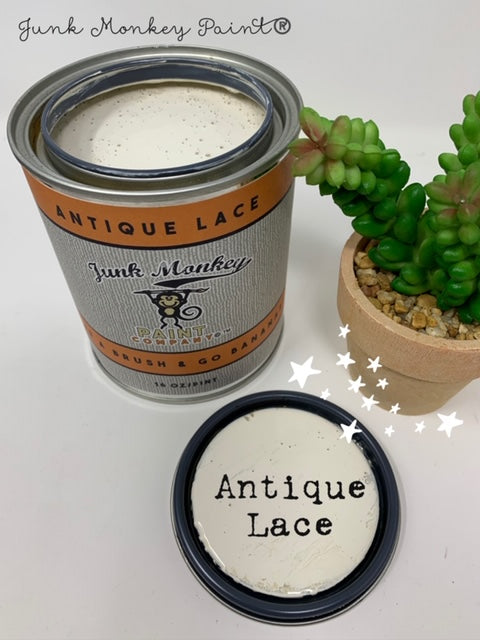 Junk Monkey Paint - Antique Lace (16 OZ Pint Can)