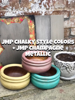 Junk Monkey Champagne Metallic Paint Poly Sealer