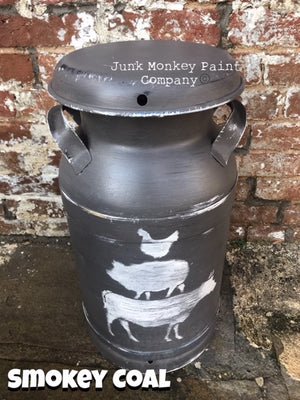 Junk Monkey Paint - Smokey Coal
