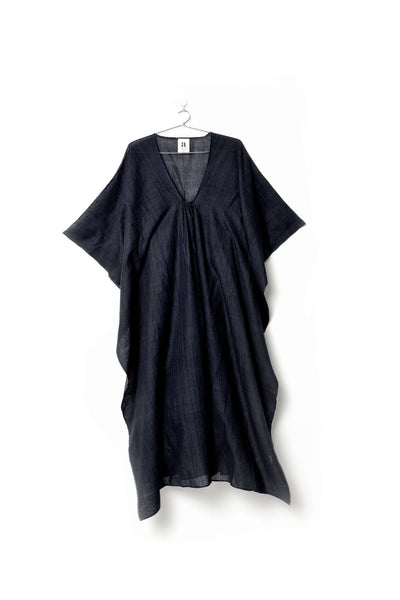 Shora Piku Kaftan - Black - nat + sus