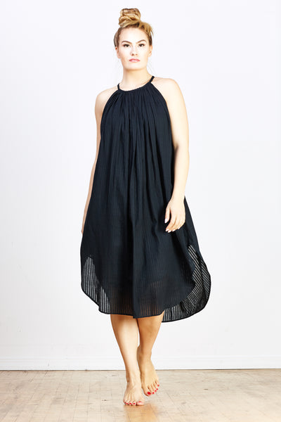 Zoey Heidi Dress - Black - nat + sus