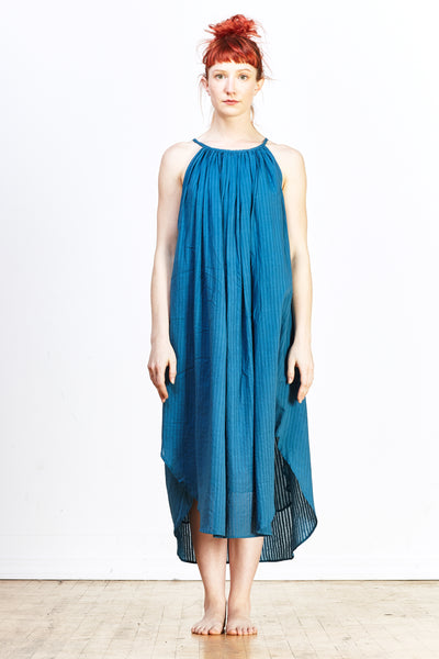 Zoey Heidi Dress - Turquoise - nat + sus