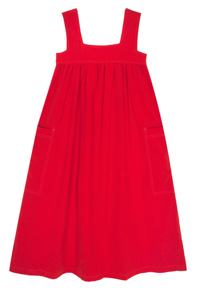 L.F. Markey Cameron Dress - Burnt Red - nat + sus