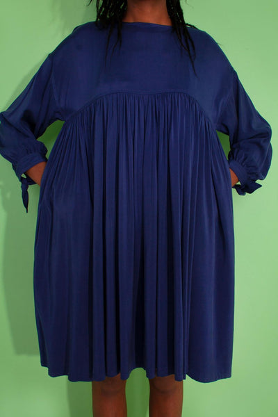 L.F. Markey Kel Dress - Navy - One Size - nat + sus/the shop