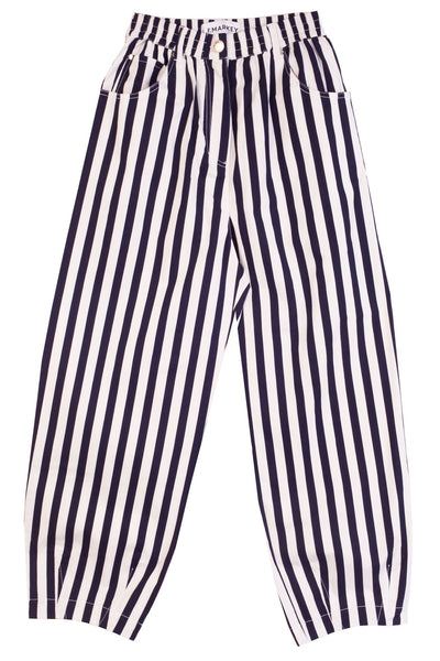 L.F. Markey Fat Boy Pants - Navy Stripe