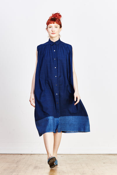 Geeta Dress - Blue - nat + sus