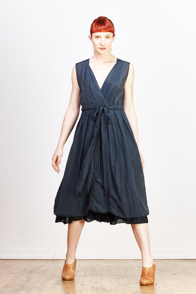 Julia Dress Cotton/Silk - Ink - nat + sus