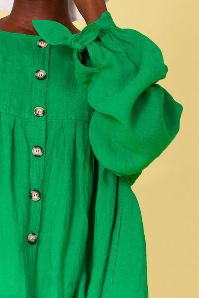L.F. Markey Kenny Shirt - Green - nat + sus