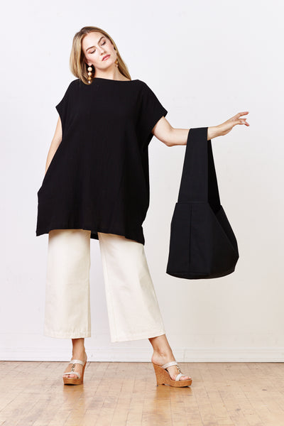 Oversized Canvas Tote - Various Colors - nat + sus