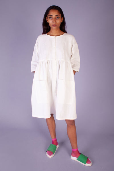 L.F. Markey Samuel Dress - Off White